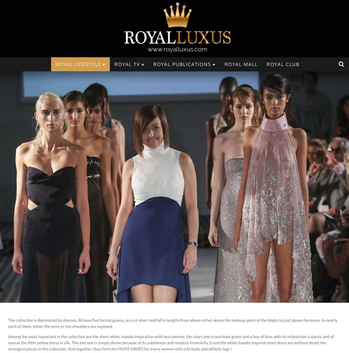 ROYAL LUXUS ss17