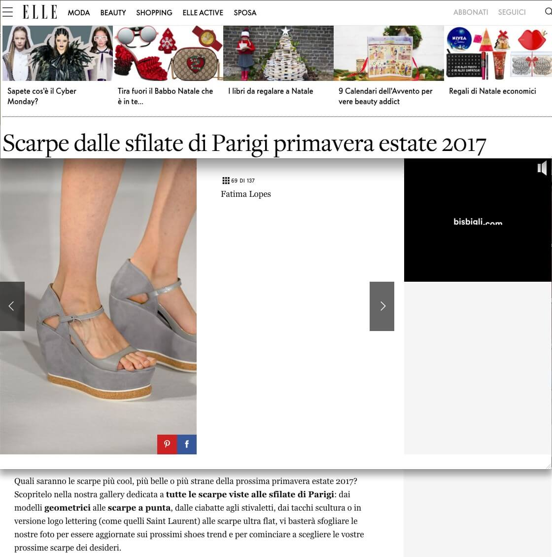 ELLE ITALY TRENDS